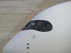 JAL  A350 福岡空港出発 ③