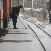 大雪と鉄道 ⑦