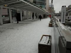 雪の街中 ⑩