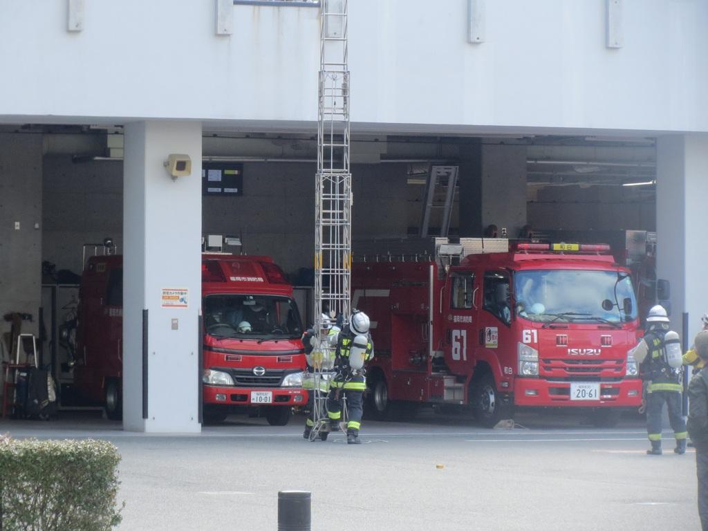 消防隊訓練 ⑤