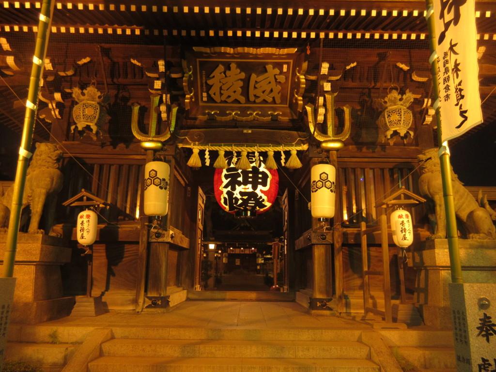 博多櫛田神社裏門