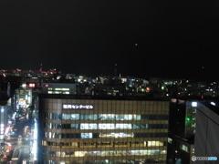 博多シティ屋上から見える夜景