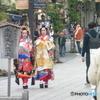 太宰府の舞妓さんらしき女性