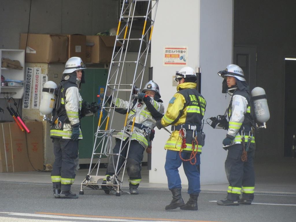 消防隊訓練 ⑧
