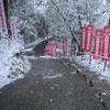 太宰府天開稲荷と雪 ⑧