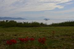 琵琶湖の風景 ~季節は秋~