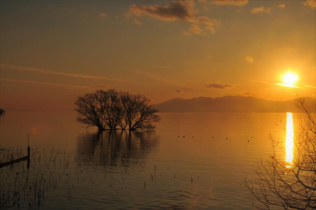 湖北穏やかな夕Ⅰ