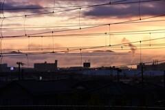 雲海の街 1