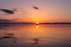 湖上のキャンドルー琵琶湖ー