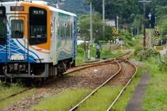 天浜線下り列車・・・