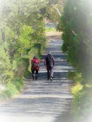 夫婦で歩く・・・