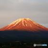 久々の赤富士