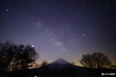 富士の北側へ
