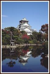 秋の大阪城