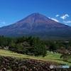 まかいの牧場から富士山