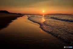 いつもの浜辺(気分はVelvia)