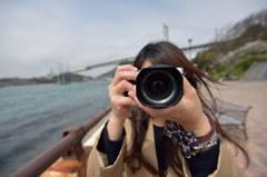 素敵なカメラ女子「ワイドな気分」
