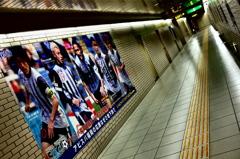地下鉄福岡空港駅通路