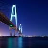 湾岸のライトアップ