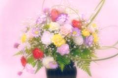 My wife's flower arrangement