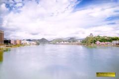 犬山城 春景 (再レタッチ)