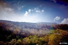 秋色に染まる たしろ高原 4