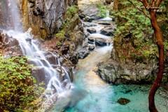 付知峡 観音滝 3