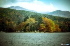 野尻湖 宇賀神社