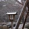雪中の兼六園1