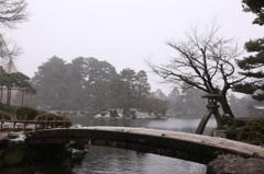 雪中の兼六園5