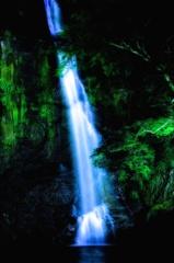 箕面滝ライトアップ