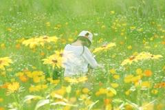 花の中の少女II