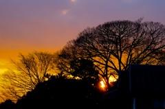 Hill's Sunset