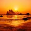 夕景  初夏の日本海