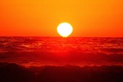落陽日本海  能登