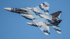 假想敌部队的F-15鷹式戰鬥機百里基地巡回教導・・・7