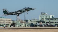 假想敌部队的F-15鷹式戰鬥機百里基地巡回教導・・・50