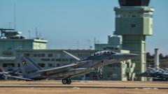 假想敌部队的F-15鷹式戰鬥機百里基地巡回教導・・・32