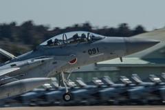 假想敌部队的F-15鷹式戰鬥機百里基地巡回教導・・・33