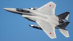 假想敌部队的F-15鷹式戰鬥機百里基地巡回教導・・・8