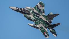 假想敌部队的F-15鷹式戰鬥機百里基地巡回教導・・・10