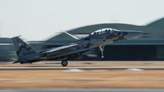 假想敌部队的F-15鷹式戰鬥機百里基地巡回教導・・・20