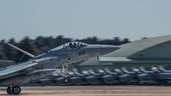 假想敌部队的F-15鷹式戰鬥機百里基地巡回教導・・・31