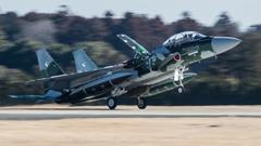 假想敌部队的F-15鷹式戰鬥機百里基地巡回教導・・・21