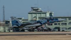 假想敌部队的F-15鷹式戰鬥機百里基地巡回教導・・・49