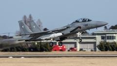 假想敌部队的F-15鷹式戰鬥機百里基地巡回教導・・・51