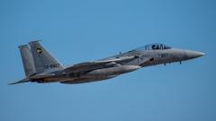 假想敌部队的F-15鷹式戰鬥機百里基地巡回教導・・・47