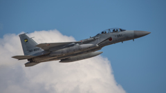 假想敌部队的F-15鷹式戰鬥機百里基地巡回教導・・・48