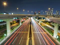 首都高速 夜景