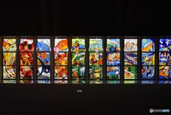 鉄道のステンドグラス